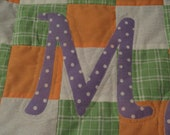 Custom designed quilt for Amy