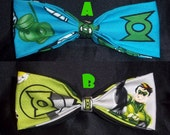 BowTies Made From Green Lantern Fabric - These Great Looking Bow Ties Are Perfect For Any and All Green Lantern Fans -U.S.SHIPPING ONLY 1.49