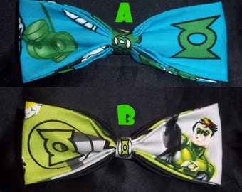 BowTies Made From Green Lantern Fabric - These Great Looking Bow Ties Are Perfect For Any and All Green Lantern Fans -U.S.SHIPPING ONLY 1.99