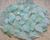 Bulk Sea Glass Seafoam Green, Blue Beach Art Supplies