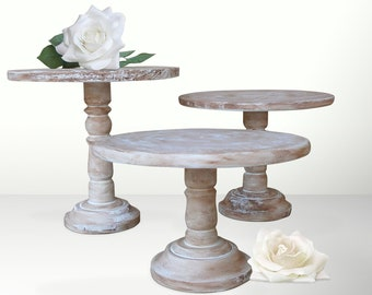 Pedestal Cake Stands For Wedding Reception Decor Buffet Table or Bridal Shower