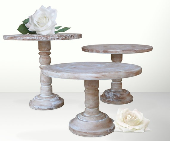 decorative cake stands for wedding cakes items similar to pedestal cake stands for wedding 13435