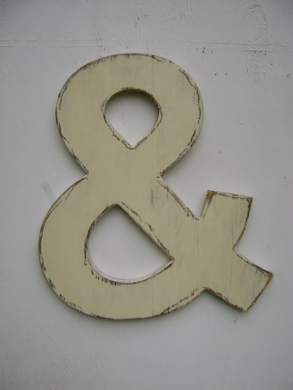 Ampersand wedding photo prop engagement photo prop bride groom photo prop rustic wedding decoration