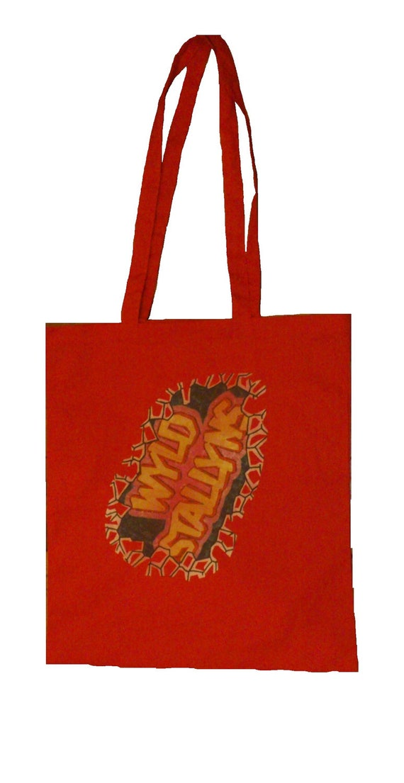 WYLD STALLYNS Red Tote Bag
