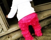 Lace Ruffled Petti Pants for babies, toddlers and girls