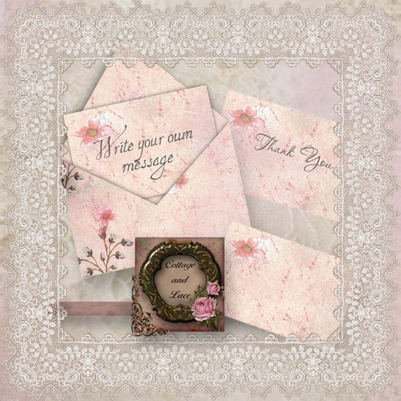 Digital greeting cards paper scrapbooking