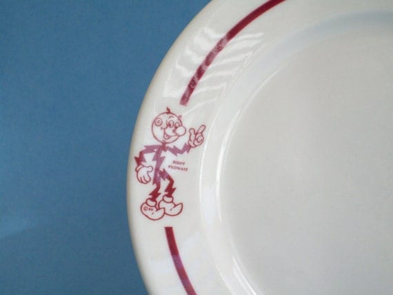 Reserved For Ron 1950s Collectible Reddy Kilowatt Salad Or