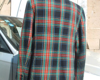 free shipping GIANFRANCO FERRE wool jacket made in Italy circa 1980's neverbeen worn free shipping