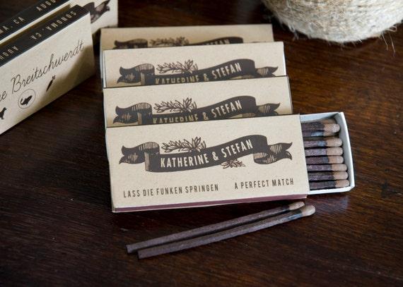 items similar to wedding matchbox favor on etsy