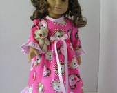 Night Dress for 18 Inch Doll