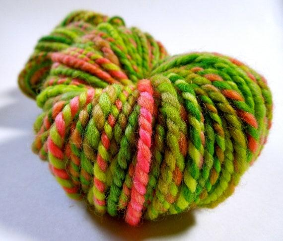 Sour Melon Handspun Yarn