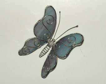 Blueish butterfly