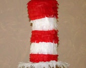 Dr. Seuss Cat In The Hat Birthday Party Pinata Pull String or Hit PINATA