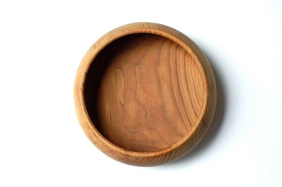 Beautiful Large Vintage Teak Wood Bowl