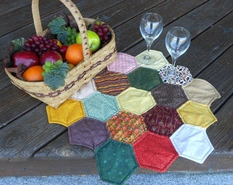 Fall Octagon Table Topper