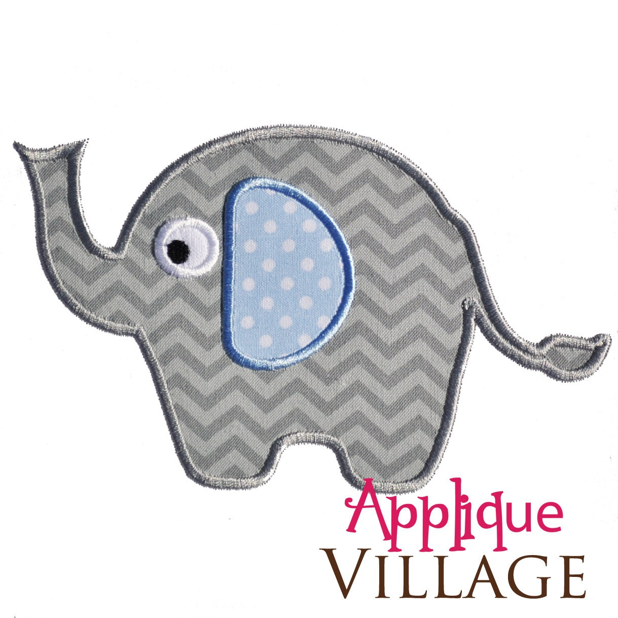 Fantastic Elephant Applique Template Embellishment - Examples ...