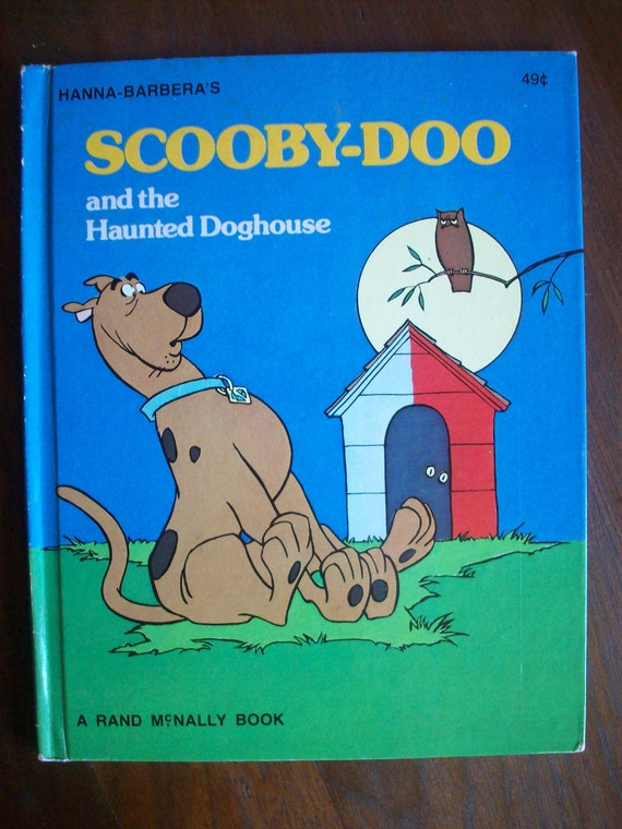 Vintage Children S Book Scooby Doo And The By