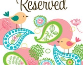 Reserved Order for Laura