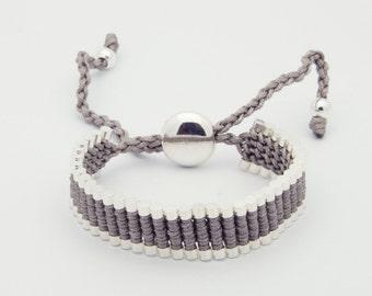 Link Friendship Bracelet - Grey Color - (One Direction)