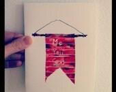 I Miss You card - Valentine Card