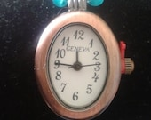 Antiquated Copper Face Beaded Watch
