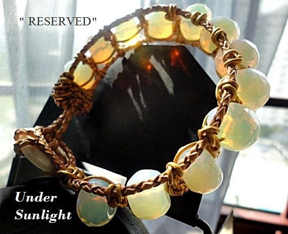 End Of Summer SALE,Mens Bracelet,Mens Gemstone Bracelet,Anniversary Gift For Men,Couple Bracelet,Leather Wrapped Bracelet,