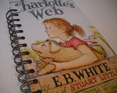 Charlotte's Web Recycled Journal Notebook