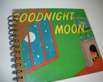 Goodnight Moon Recycled Journal Notebook Margaret Wise Brown