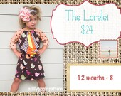 The Lorelei Dress-- a Lilygigle pattern