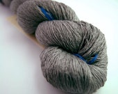 Reclaimed pewter silk laceweight yarn, 16g