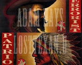 Indian/Cowboy Diptych
