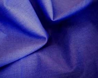 Beautiful French Blue Cotton Broadcloth