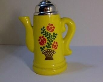 Vintage Avon Koffee Klatch Lemon Velvet Bath Foam