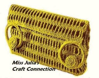 A BEST Vintage 1943 Chic & Classique Clutch 381 PDF Digital Crochet Pattern