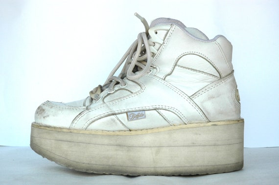 VTG 90s org. Buffalo Platform sneakers / Flatform sneakers - Medium Tower / Buffalo Tower sneakers - EU 37.5-38 / 7-7.5 US