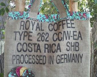 "Tumbleweed Market Bag ""Royal Coffee"""