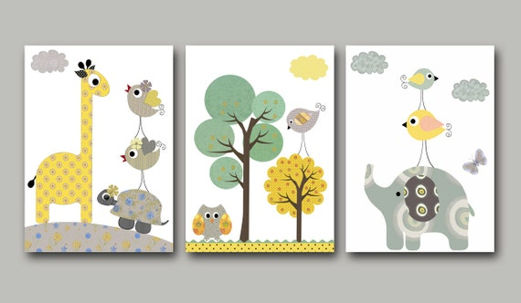 Art For Children Kids Wall Art Baby Boy Room Decor Baby Boy Nursery