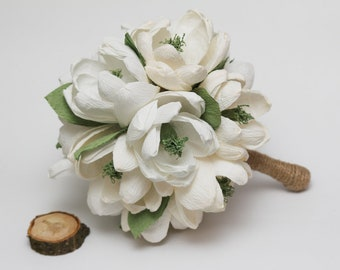 wedding bouquet, rustic bridal bouquet, rustic wedding, rustic wedding decor, rustic flowers, rustic white flowers, rustic ivory flowers