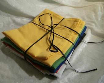 Altar Cloth Set - Set of 6 100% Cotton Altar Cloths