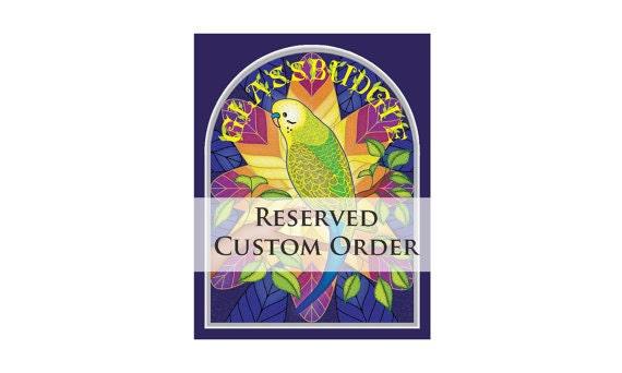 Reserved for Kana- Custom Order