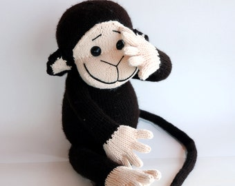 Monkey - pdf knitting pattern