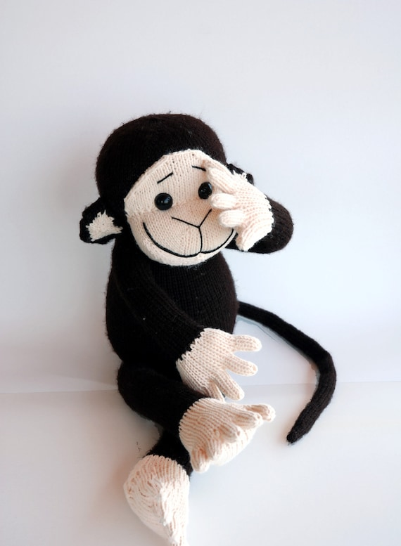 Monkey pdf knitting pattern by deniza17 on Etsy
