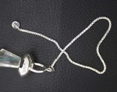 New Healing Crystal Faceted Pendulum With Crystal Pagan  ET A10/3