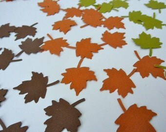 AUTUMN LEAVES CONFETTI
