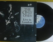 The Only Ones Live In London Punk Rock LP Record