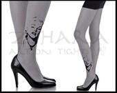 Marilyn Monroe  printed Tights (40F76-IGB) Free Shipping!