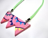 Bunting colorful necklace