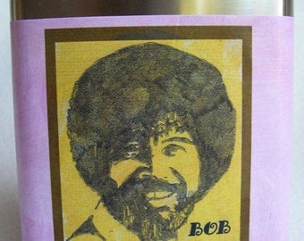 Bob Ross Flask- FREE SHIPPING