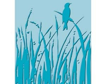 CUTTLEBuG - BIRD CALL - Embossing FOlder A2 - Also Works in SIzzix, Vagabond etc -New in pkg