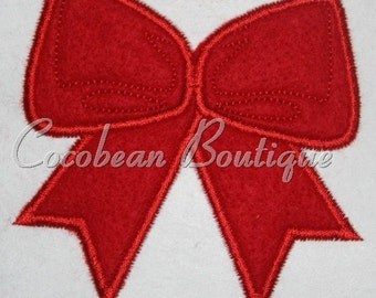 embroidery applique bow